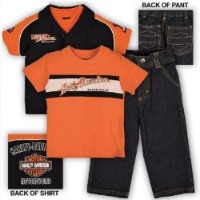 S0372344 set denim Harley Davidson 3 pz