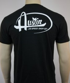 assts101zw t-shirt austin speed shop