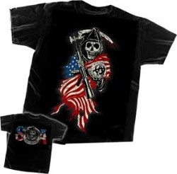t-shirt SONS OF ANARCHY 28-631-103